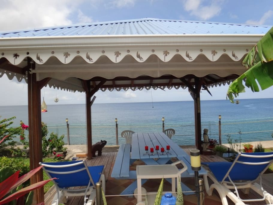 chambre d 39 hotes piedanl 39 o bed breakfasts for rent in saint pierre martinique martinique. Black Bedroom Furniture Sets. Home Design Ideas