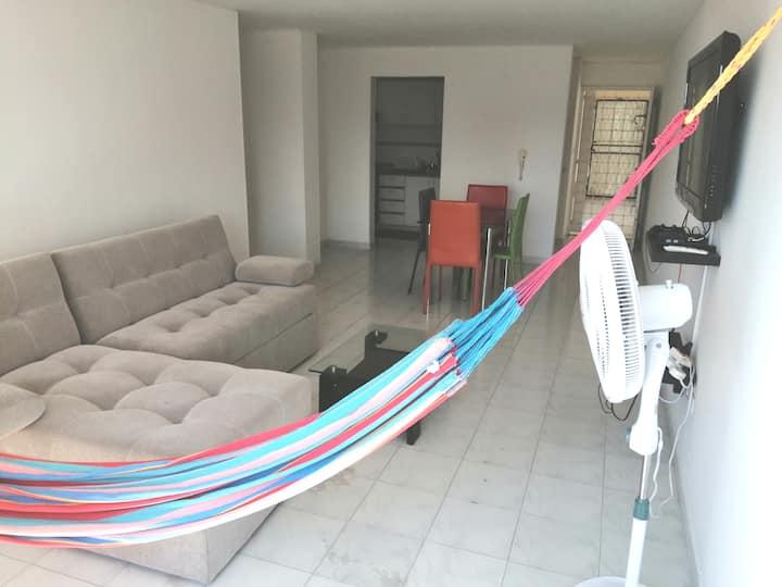 Hermoso apartamento 3H Santa Marta zona central