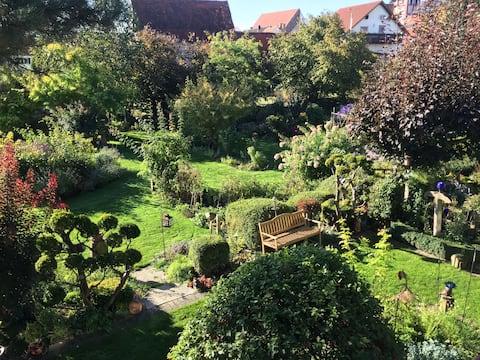 Ferienwohnung Gwenlyns' Garten ,Wohnung Hepatica