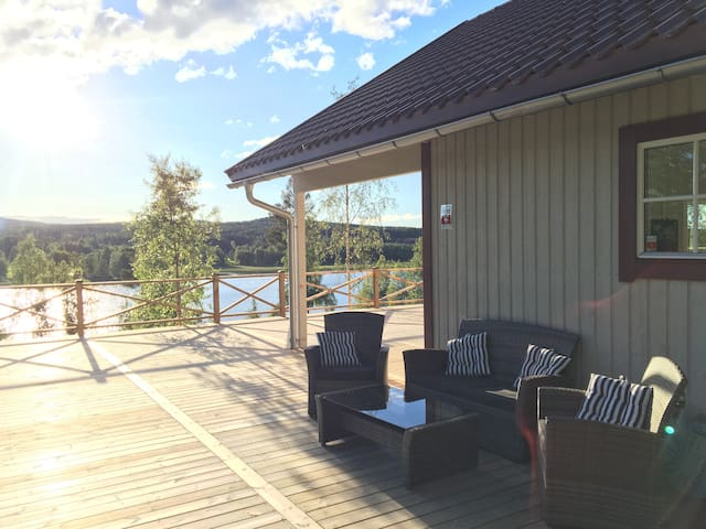 Cozy house in Järvsö with a stunning view