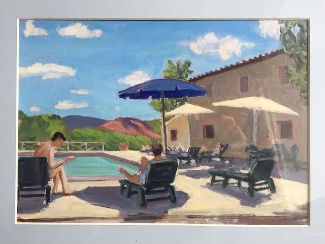 """Villa """"Casa Mia"""", Monte Acuto, Near Umbertide"""