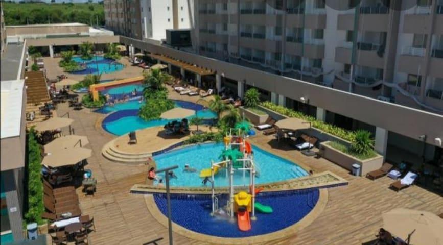 Apartamento para locação  em resort em Olímpia/SP