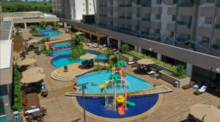 Apartamento 104, torre A, p/ locação em Olímpia/SP