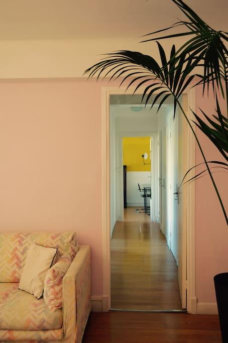 Corridor to the Bedrooms