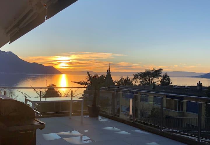 Montreux - Château Chillon – Lac Léman ♥