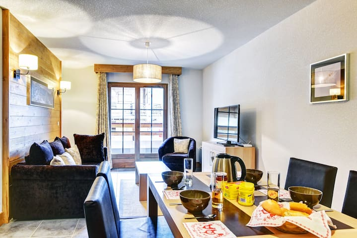 Find relaxation in our gorgeous 2 bedroom apartment in Châtel!