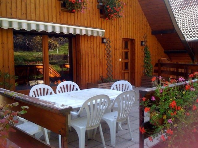 "Charming chalet in the mountains ""la Grange de Jo"" - Muhlbach-sur-Munster - Chatka w górach"