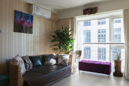 彼岸  西长安街万达广场南复式两居五星级公寓整租  一线地铁边 - ปักกิ่ง - อพาร์ทเมนท์