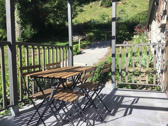 Gite T3****  terrasse parking privé sauna Wifi