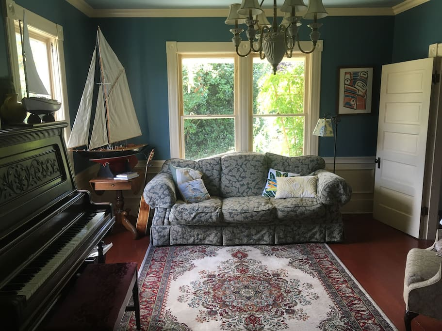 Front parlor & sitting room.