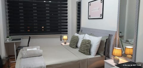 Comfortable_Large Double Room at Arouche CentroSP