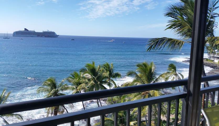 Alii Breeze, location, location... - Kailua-Kona - Apartamento