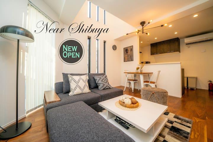 New luxury house/2BR/70m2/4min shibuya/nr shinjuku