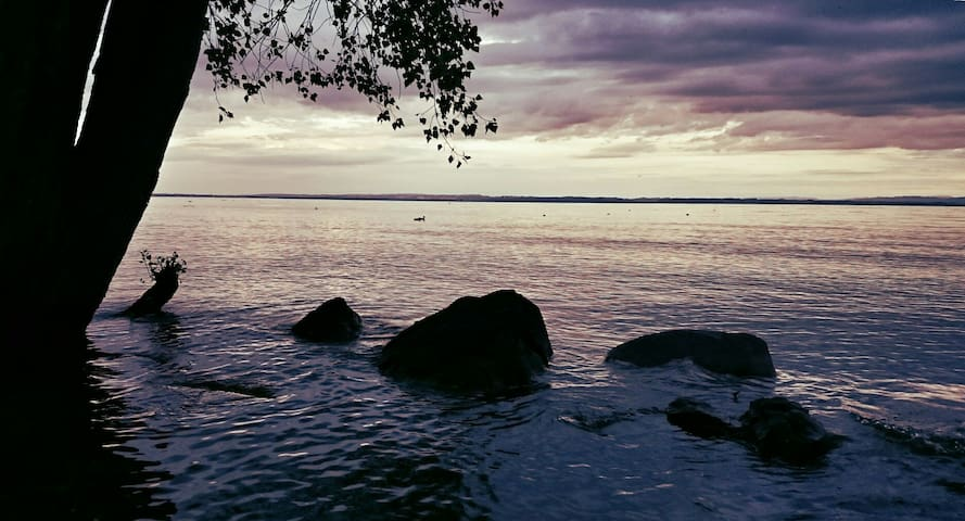 Natürlich Übernachten direkt am See (*Blu Moon*) - Salmsach - Jurta