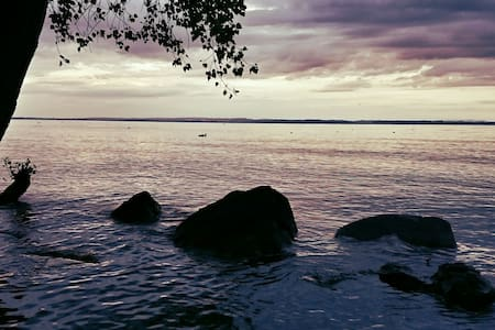Natürlich Übernachten direkt am See (*Blu Moon*) - Salmsach - Rundzelt