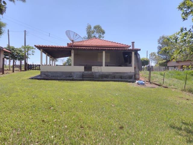 Rancho beira do Rio Paraná Panema (condômino Pat)