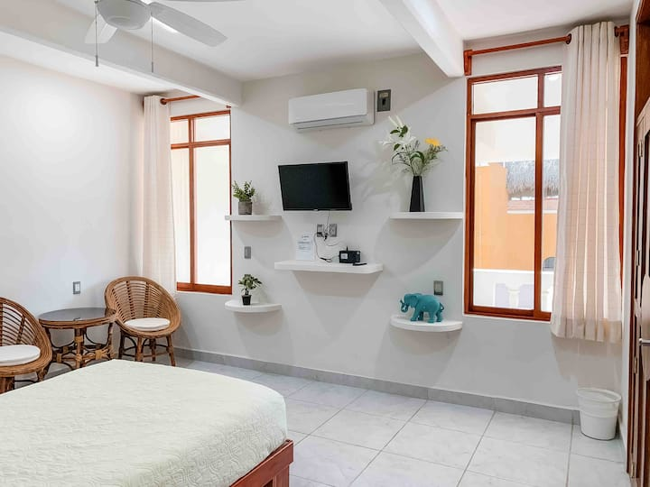 Junior Bedroom with High-Speed Internet & A/C