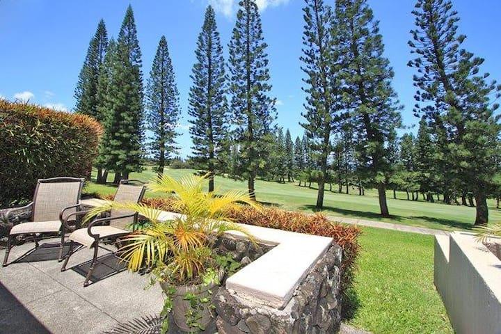Kapalua Golf Villas - Gold - Views - Lahaina - Pis