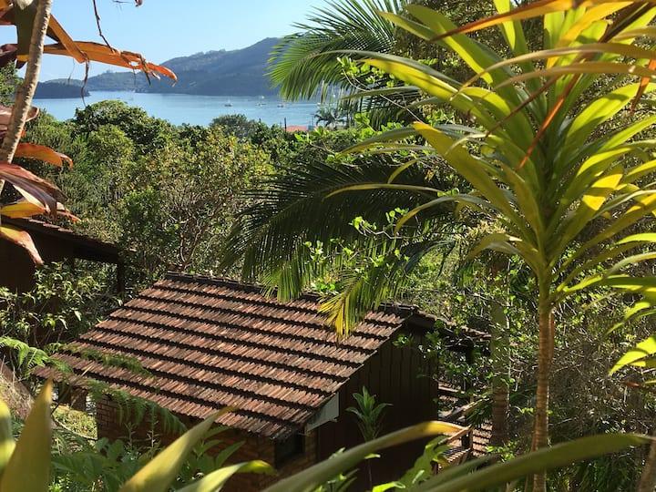 Cabana suíte casal Porto Belo Bombinhas Mariscal