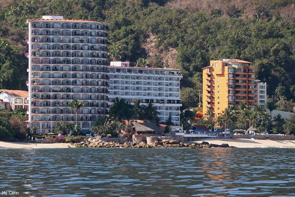 Vista de Girasol Sur Puerto Vallarta en Playas Gemelas