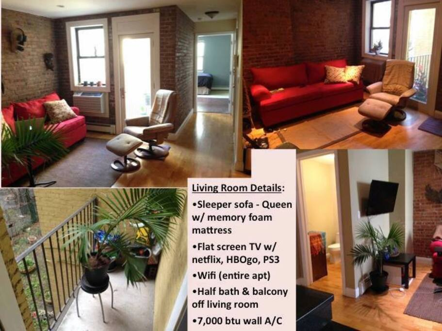 Livingroom / Balcony