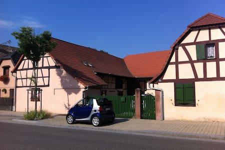 Corps de ferme en Alsace - Kunheim
