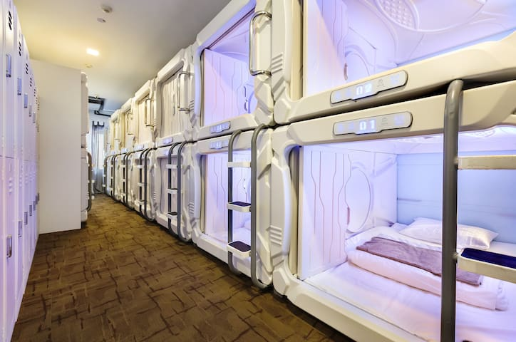 Boutique Capsule Hotel @ Chinatown