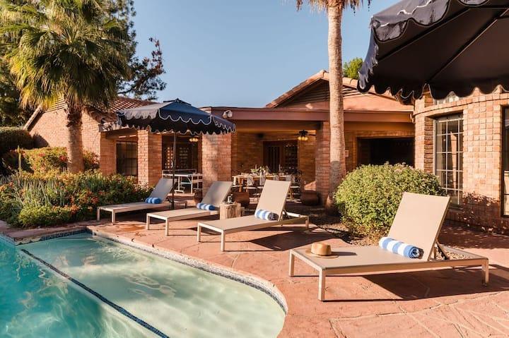 Rancho Style Villa Paradise Valley | Desert Oasis