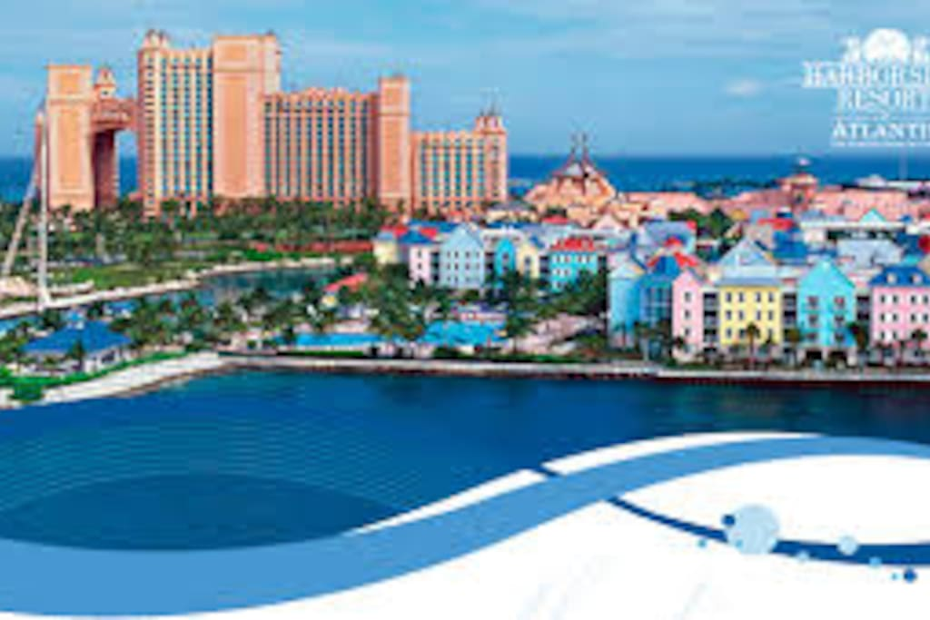 Harborside Resort At Atlantis Villas For Rent In Nassau