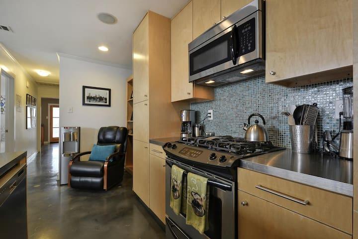 2BR Modern Zilker Duplex - Unit B - Austin - Townhouse