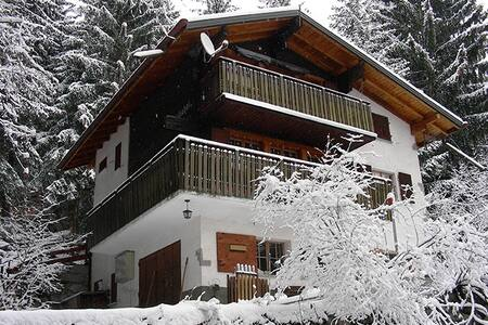 Chalet Mischabel -1er étage - Blatten bei Naters - Apartamento