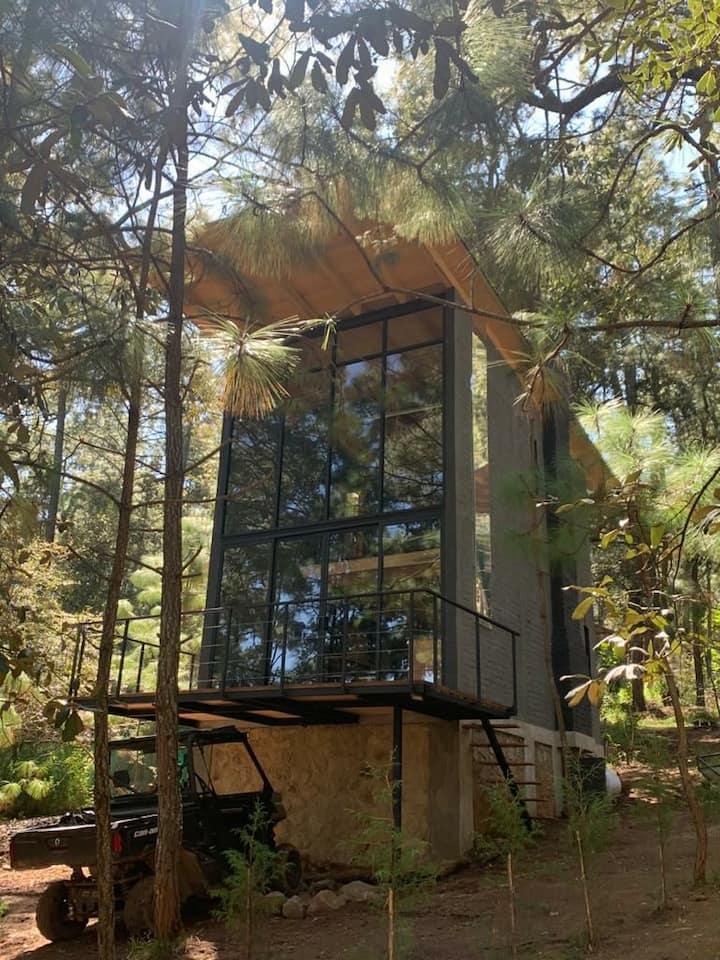Cabaña bosque viejo 5 (2 personas)