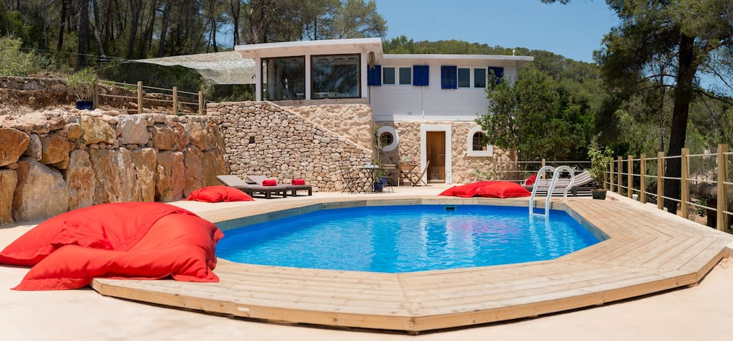 Casa Madera Ibiza - Santa Eulària des Riu - Huis