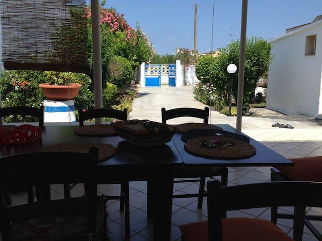 villa 6 posti in salento 250 m mare - Frigole - Villa