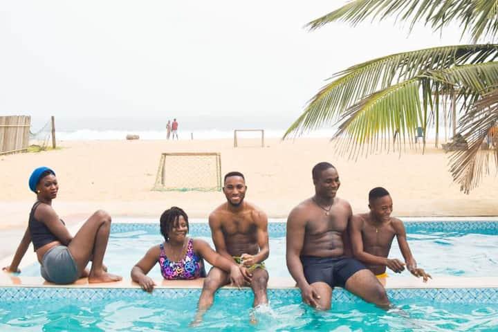 Dhope Luxury Beach House-Ilashe beach-Amuwo Odofin