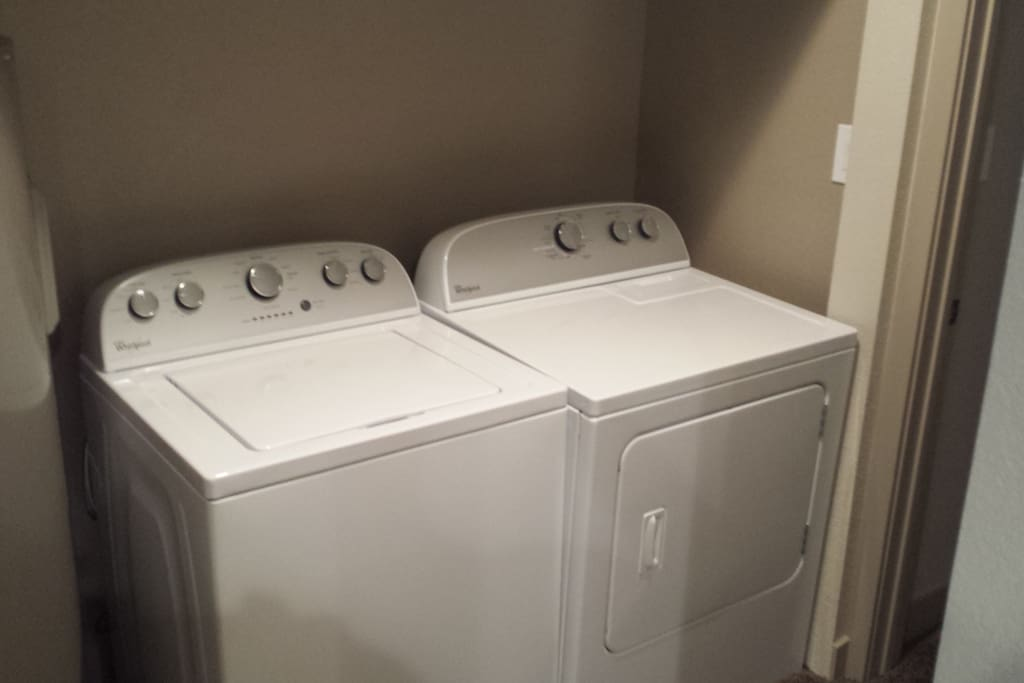 Washer and Drywer
