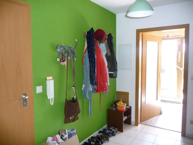 2 rooms with balcony in countryside - Burgthann - Wohnung