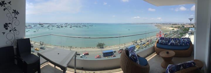 Vigía, hermoso departamento frente al mar
