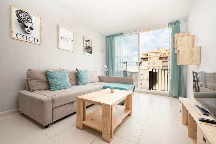 Inmejorable apartamento en Palma 520 con WIFI