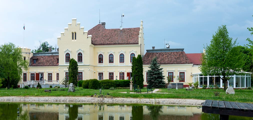 """POKVÁR castle""  an old mansion house, - Tét"