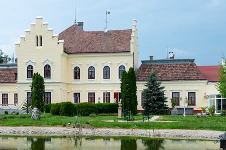 """POKVÁR castle""  an old mansion house, - Tét - Slot"