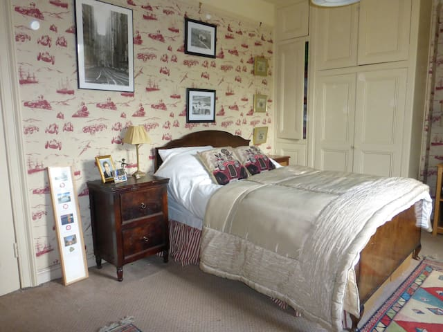Double room with car theme - Holmbridge, Holmfirth - Hus