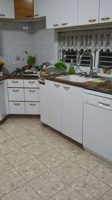 the kitchen is ready yo use with all neccery