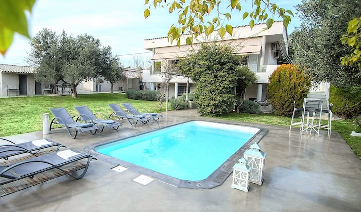 Apartment Lagonissi Residence 3  with common pool
