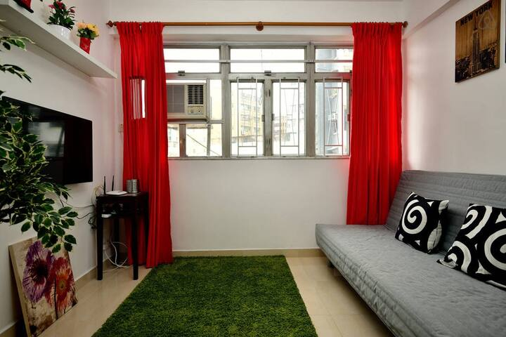 living room & LED TV & 300M/s WIFI & sofa bed