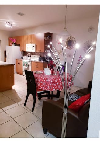 Room to save money, with wifi, refrigerator wpb5
