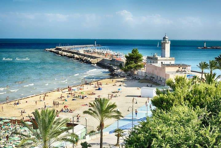Splendida casa 10 minuti dal mare - Manfredonia - Daire
