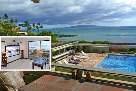 Ocean View 1BR @ The Shores of Maui high-end style - Kihei - Kondominium