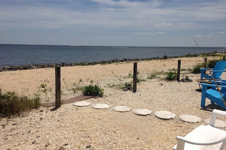 Romantic Barnegat Bayfront Cottage - Lacey Township - Hus