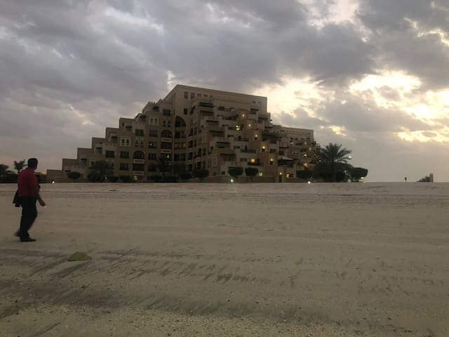 Beach Access fully furnished RAK  Marjan island